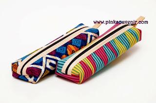 Souvenir Tempat Pensil Batik Cakung Jaktim
