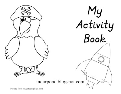 FREE Printable for a Dry Erase Activity Book from In Our Pond