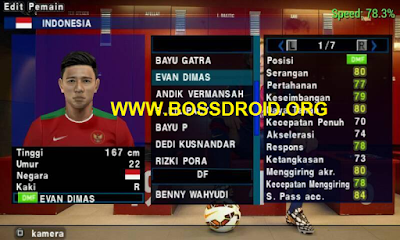 Download SaveData PES Jogress V2 Timnas Indonesia (Suzuki AFF Championship)