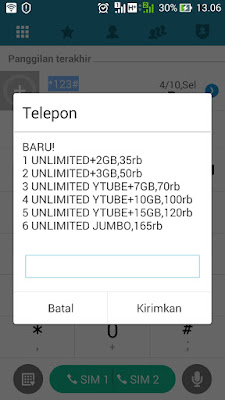 paket unlimited youtube 24 jam