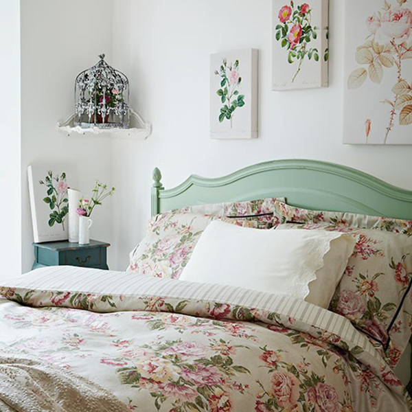 Vintage Floral Bedroom Inspiration