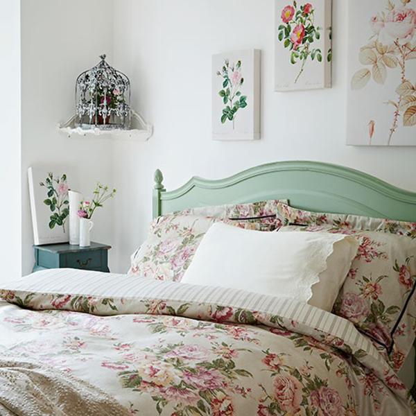 Vintage Floral Bedroom Inspiration