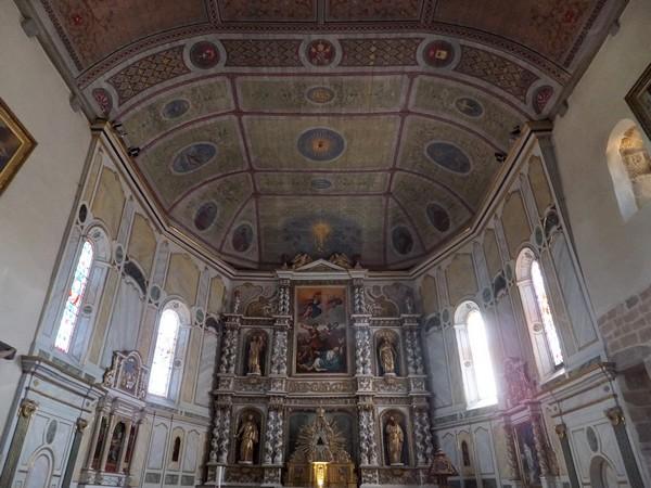 pays basque espelette église retable