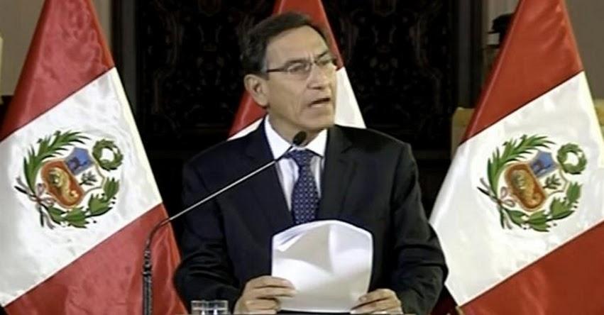 ÚLTIMO MINUTO: Presidente anuncia cierre del Congreso de la República