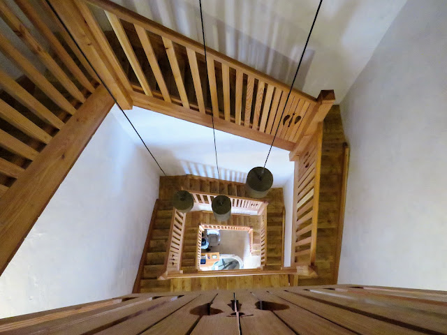 Stairs to the Piran Cathedral Tower