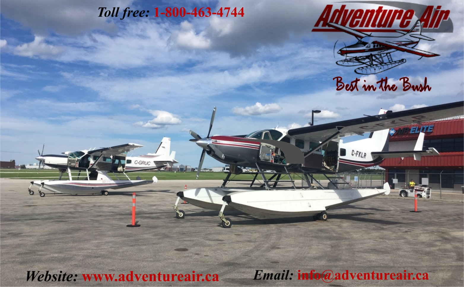 Adventure Air - 52 Blueberry Rock Dr. Lac du Bonnet Manitoba -204-345-5664