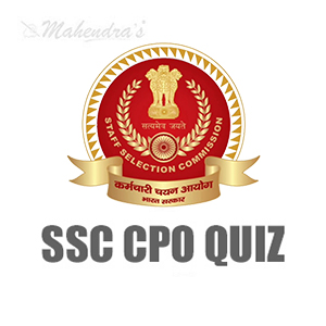 SSC CPO Quiz