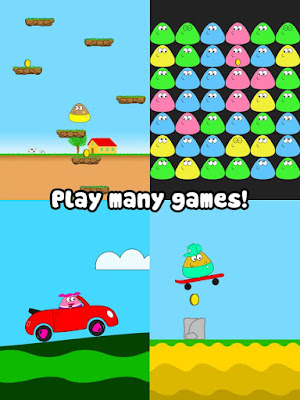 Download Game Pou Mod APK Unlimited Money
