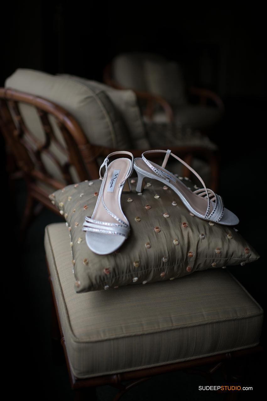 Wedding Shoes by SudeepStudio.com Ann Arbor Wedding Photographer