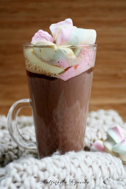 kawa z pianką, kawa z czekoladą