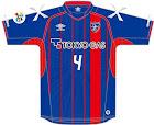 FC東京 2016年ユニフォーム-ホーム・ACL