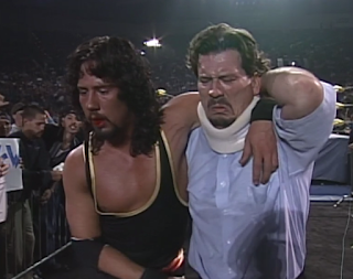 WCW HALLOWEEN HAVOC 96 REVIEW: Nick Patrick helps Syxx to the back