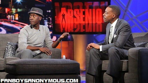 Marvel Avengers: Age of Ultron plot leaks prevented live on Arsenio TV talk show