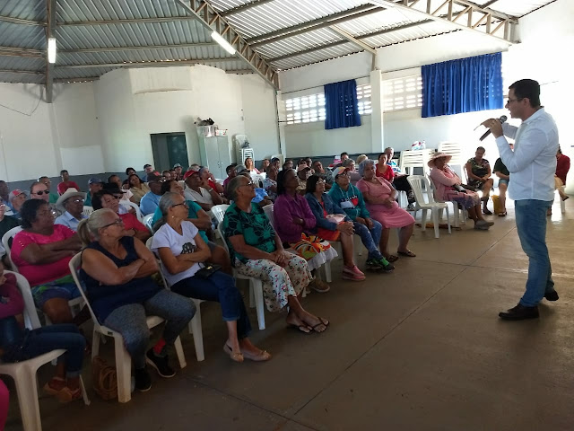 Combate e prevenção á doenças foi tema de palestra para idosos em Luís Eduardo Magalhães