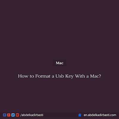 How to Format a Usb Key With a Mac