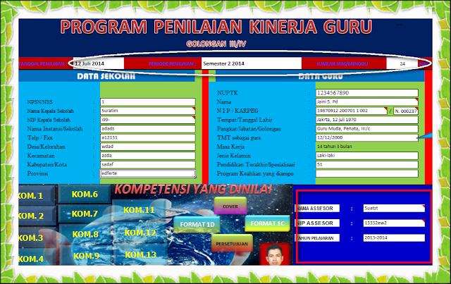 Download Aplikasi PKG Otomatis Menggunakan MS. Excel Terbaru