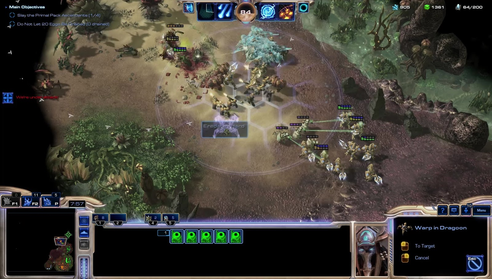 Announcing Starcraft 2: Primal Ascension - Outsider Xandros