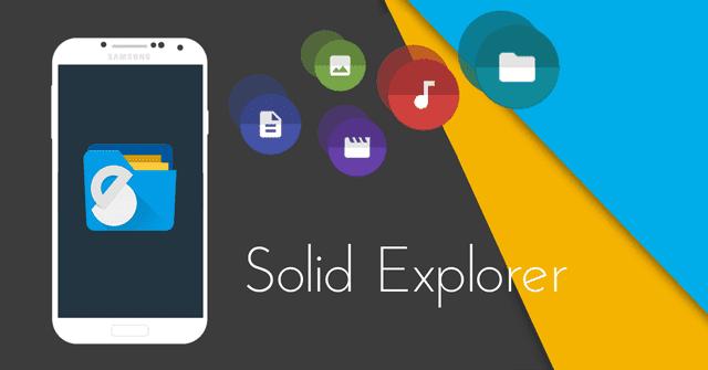 Explorador de archivos para Android, Solid Explorer File Manager