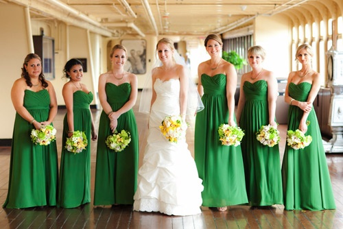 Usually A Surprisingly Versatile And Varied Color Which Implies You Can Pick Out One Of The Most Proper Shade Green To Bridesmaid Dresses