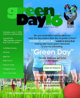 Green Day 2016 Flyer
