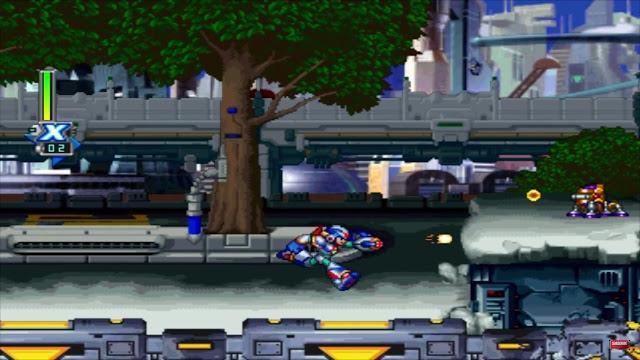 Mega Man X5 - PSX - Captura 1