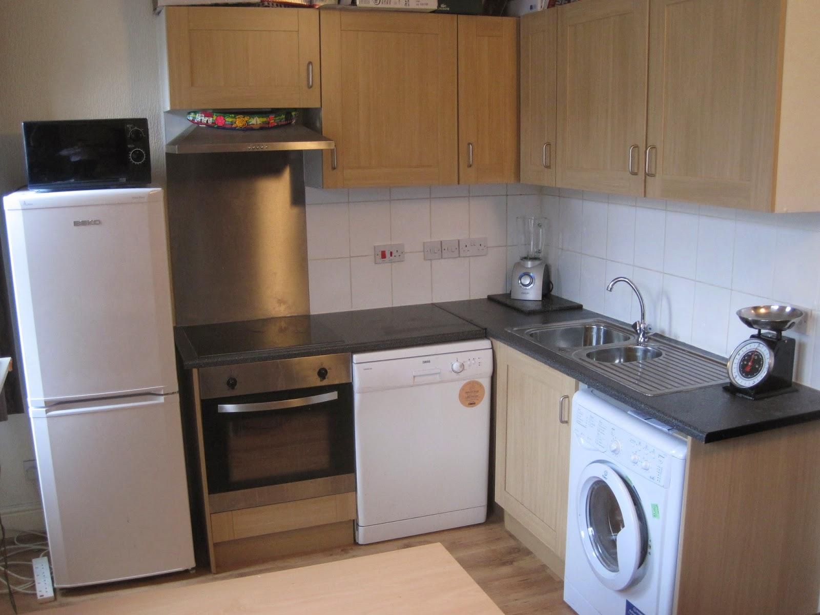 Selly Oak apartment kitchen