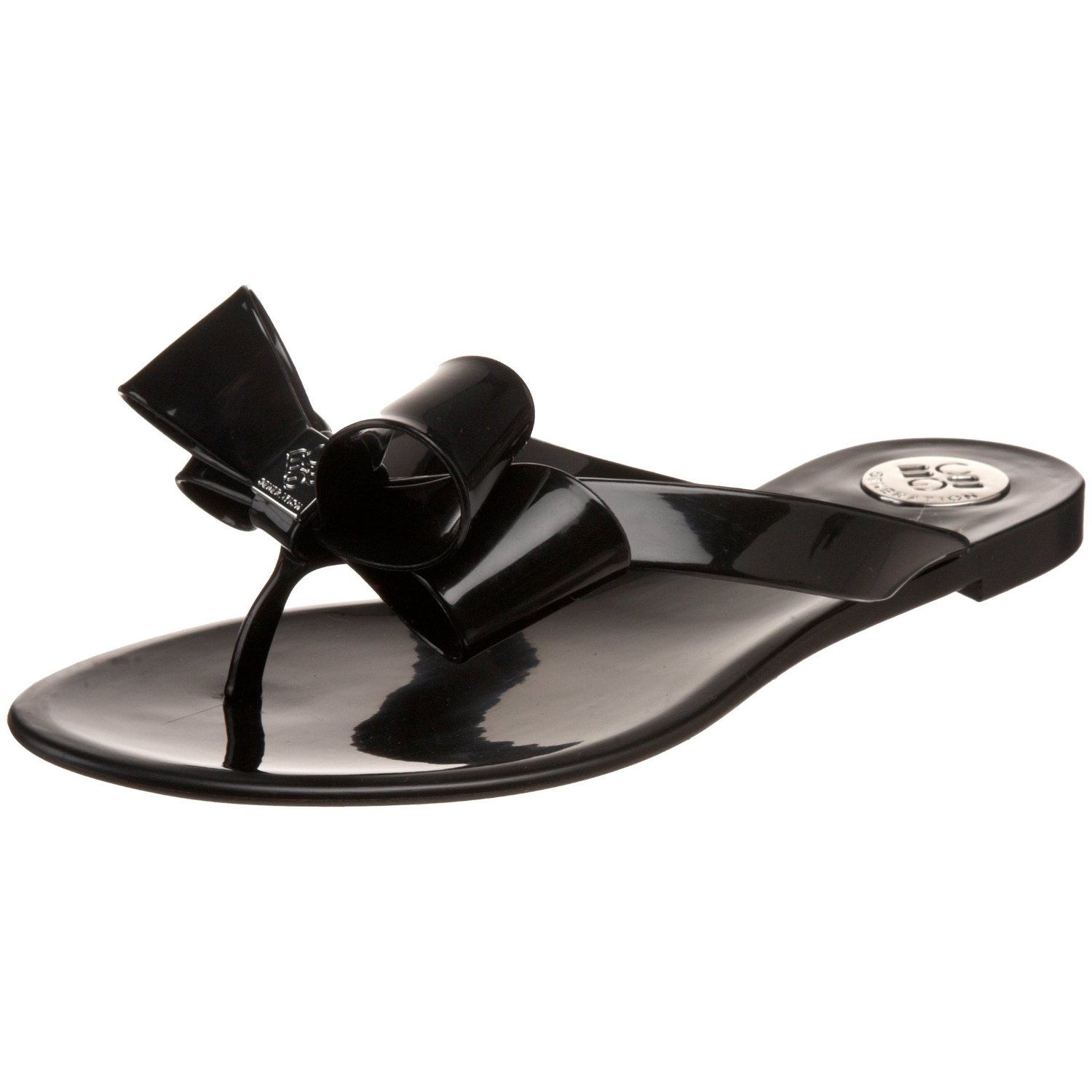 The Look 4 Less Valentino Bow Jelly Sandal Updated 3