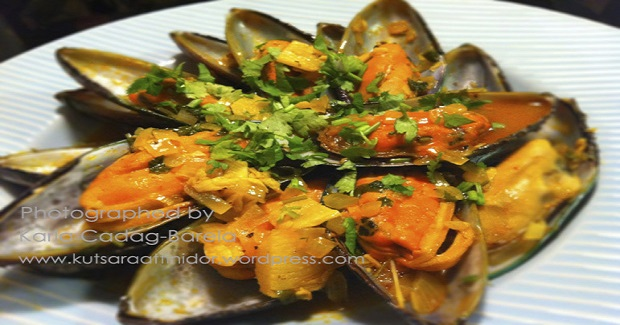 Adobong Tahong (Mussels In Tangy Sauce) Recipe