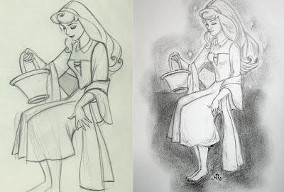5- تقليد رسومات :