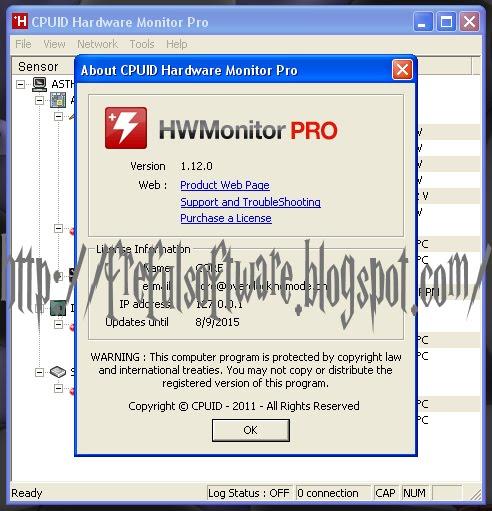 Cpuid hardware monitor pro key | HWMonitor Pro 1 32 0 Crack With