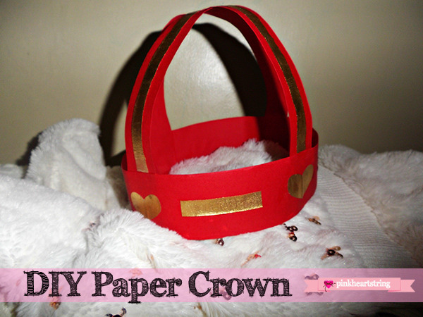how to make a paper crown
