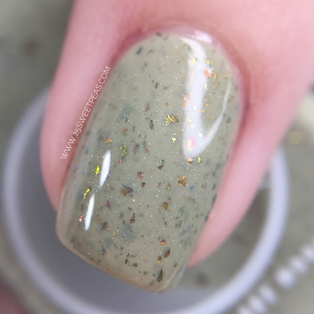 Moon Shine Mani Safe to Sage