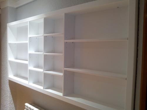 Librer a lacada a medida muebles cansado zaragoza - Librerias a medida ...