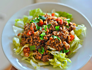 Easy Mexican Beef and Bulgur Salad