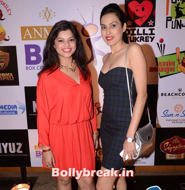 Sneha Wagh and Kamya Punjabi, Box Cricket League Success Party - Tv Babes as Guests