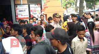 Jumlah Pengunjung Lapas Membludak,  Polsek Kota Tingkatkan Pengamanan