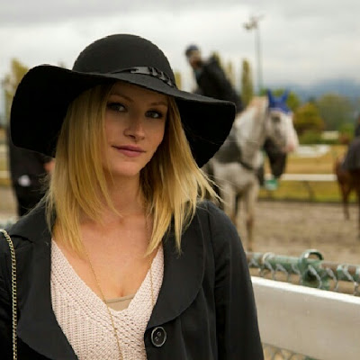 Vancouver Fashion Blogger, Alison Hutchinson, at Hastings Race Track