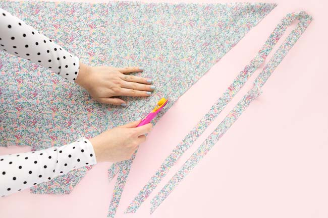 Make your own bias binding - Tilly and the Buttons