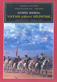 Kitap Yorumları, Vatan yahut Silistre, Namık Kemal, Bordo-Siyah, Tiyatro