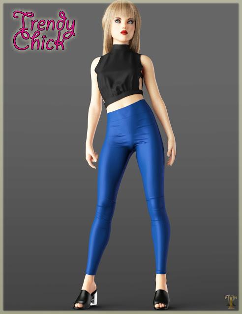 Trendy Chick for Genesis 8 Female