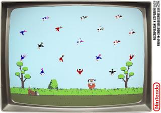Duck hunt target