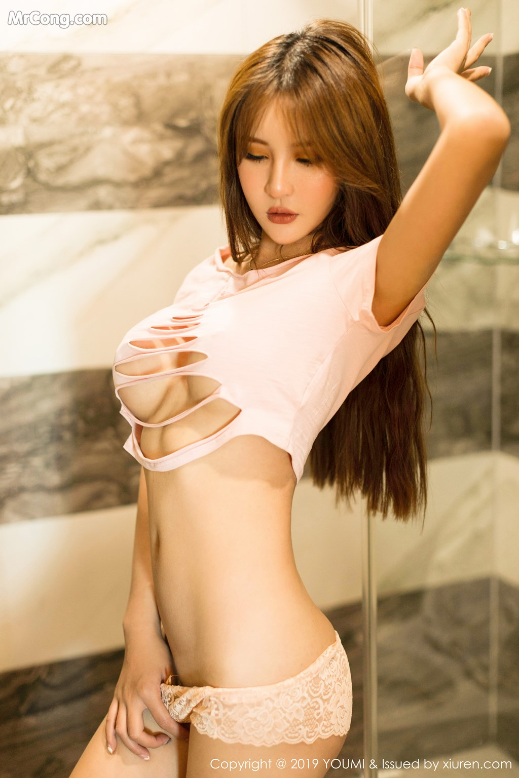 Image YouMi-Vol.342-Emily-MrCong.com-009 in post YouMi Vol.342: Emily顾奈奈 (42 ảnh)