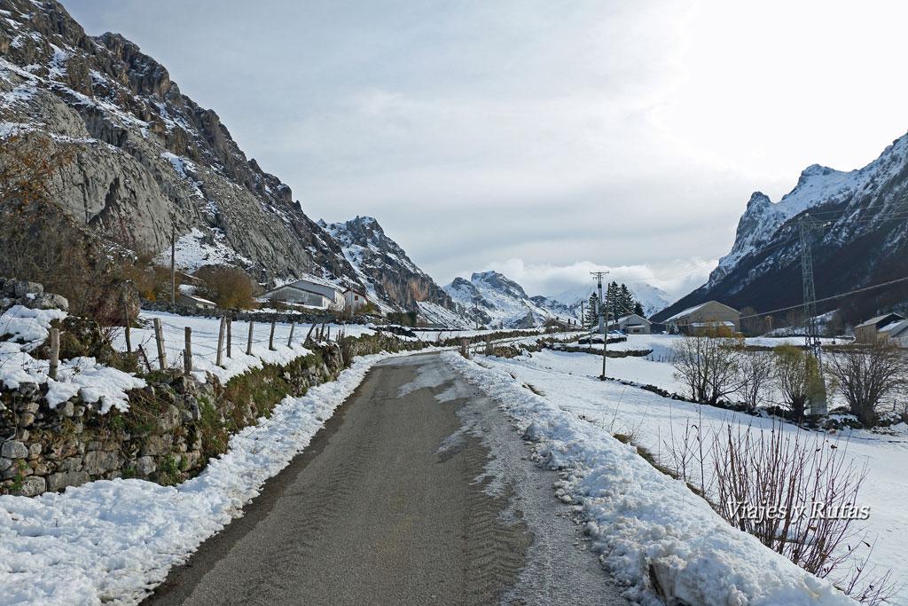 Ruta del Valle del lago nevada