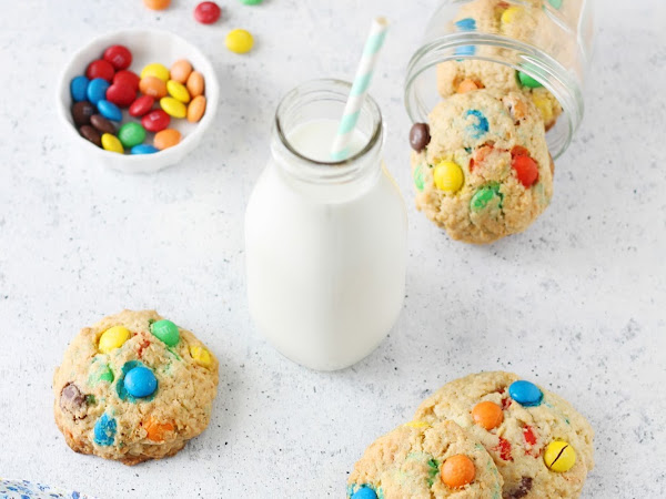 Cookies con m&m's (o smarties)