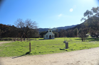 Church from HBO's Westworld series.  Western Town Paramount Ranch