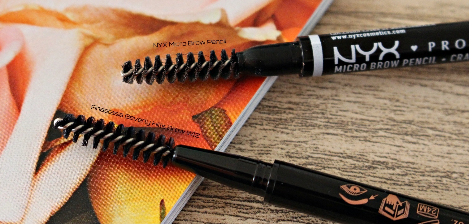 NYX Micro Brow Pencil vs Anastasia Beverly Hills Brow Wiz
