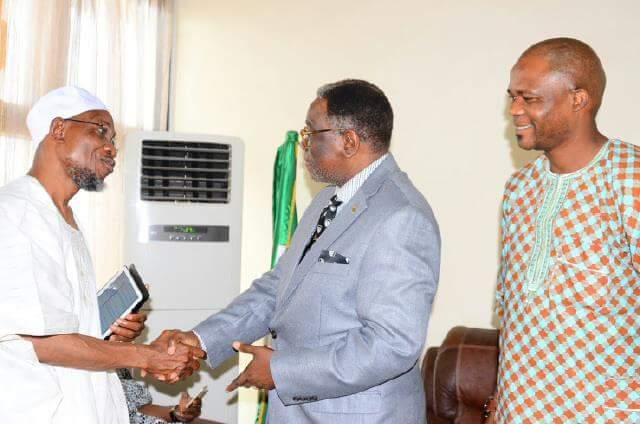 NSE President, Engr Anyaeji Pays Courtesy Visit Ogbeni  Osun State Governor Ogbeni Arigbesola