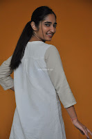 Radhika Cute Young New Actress in White Long Transparent Kurta ~  Exclusive Celebrities Galleries 092.JPG