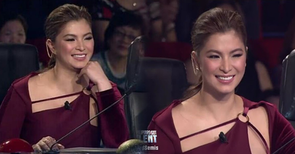 Angel Locsin Winked At Prinsipe Makata After He Praised Everything About Her