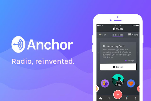 review aplikasi podcast anchor